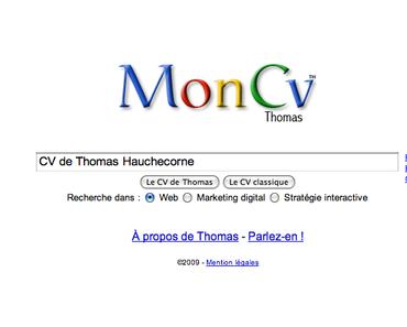 Dans la série CV original, après le CV Google voici le CV Facebook