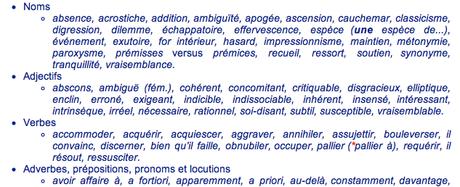 orthographe mots
