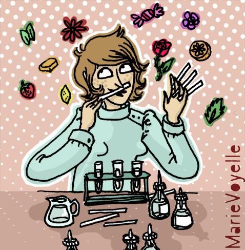 Fiche metier parfumeuse