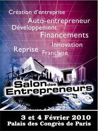 Carriere auto entrepreneur focus emploi for Salon des entrepreneurs paris