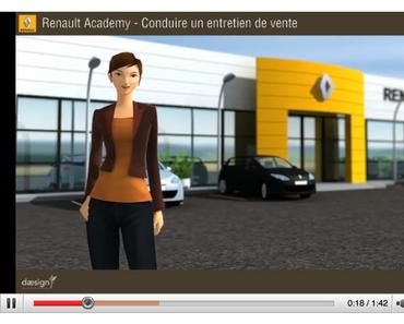 """Un """"Serious game"""" de Renault décroche des 1er prix à Imagina"""