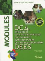 Educateur, ce métier impossible - livre DC4 DEES