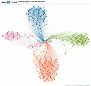 Cartographier vos relations professionnelles grâce à LinkedIn InMaps