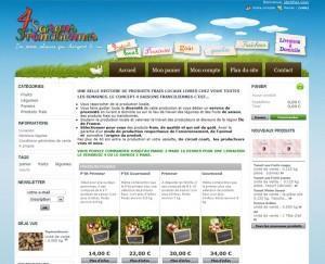 Un exemple de site de vente en ligne réussi