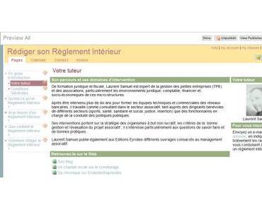 Un Reglement Interieur pour votre association (tutorat en ligne et gratuit)