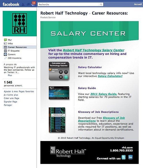 robert half technology salary guide pdf