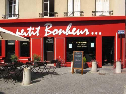 Le restaurant Au Petit Bonheur