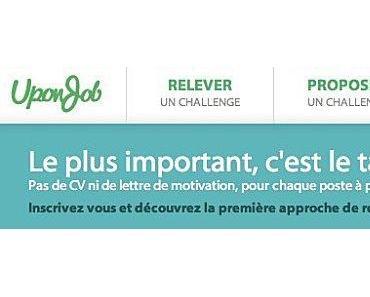 Avec UponJob relève un Challenge et décroche le Job de tes rêves !