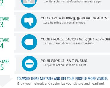 3 conseils pour augmenter la visibilité de votre profil LinkedIn