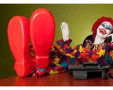 """Après """"Entretien avec un Vampire""""… Entretien avec un clown!"""