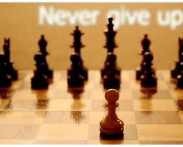 N'abandonnez jamais ! JAMAIS !