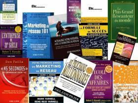 Autant d'ouvrages sur le MLM ! Proposition commerciale.