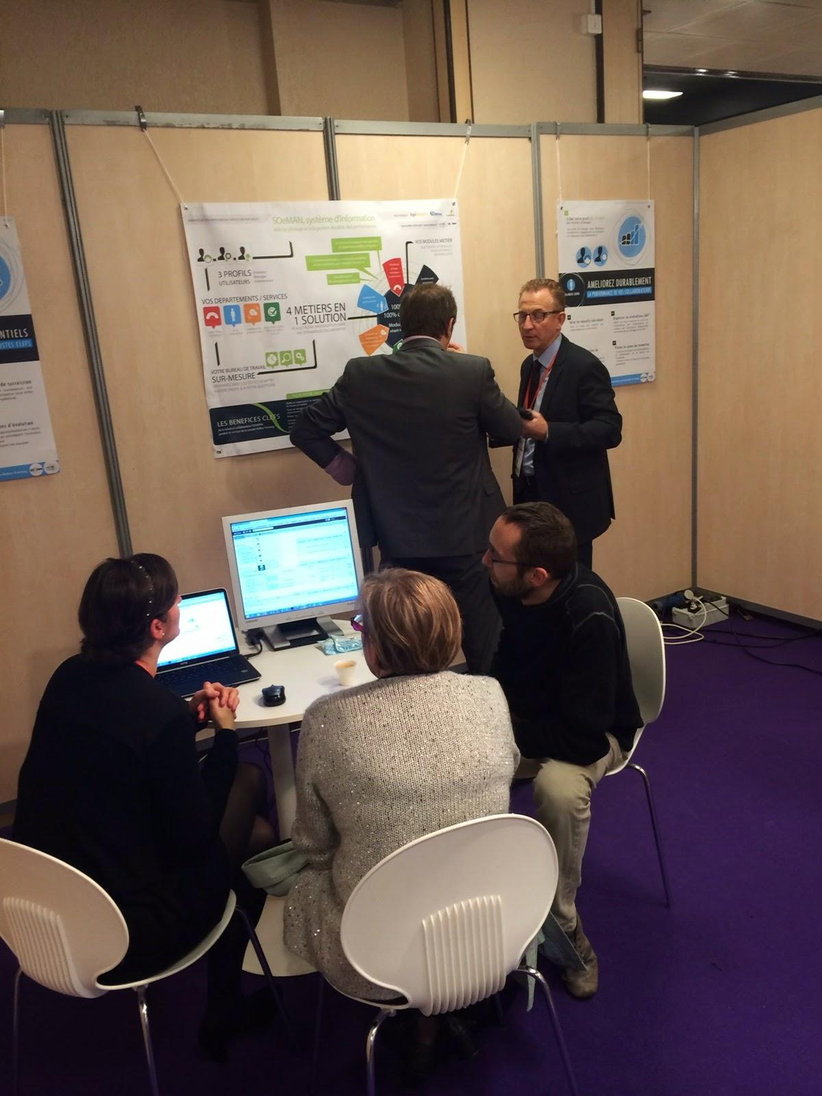 Salon solutions ressources humaines 2014 rencontre entre for Salon des ressources humaines