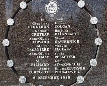 Le terrible 6 décembre de Polytechnique il y a 25 ans