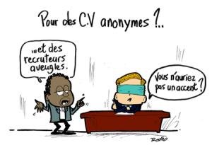 Le CV anonyme : une fausse bonne idée ?