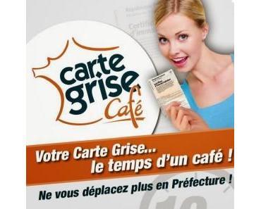 Carte grise café : un concept étonnant pour gagner du temps
