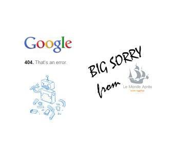 Le Monde Après fait planter Google