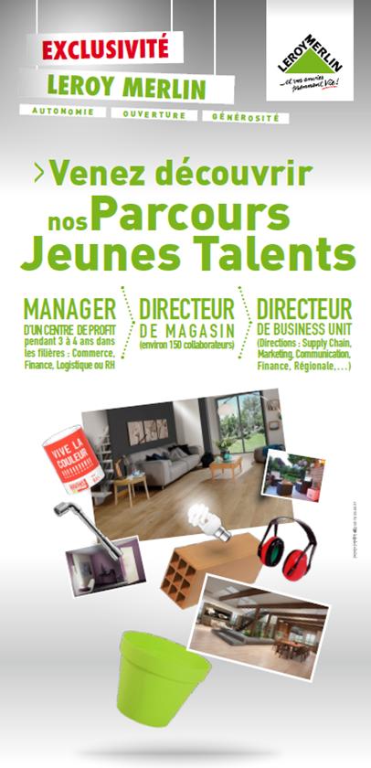 Plug&Work Lyon : Découvrez les Parcours Jeunes Talents de Leroy Merlin