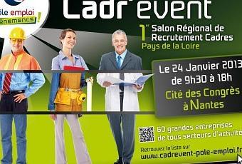 Cadr 39 event 1er salon r gional de recrutement cadres pays for Salon sirh