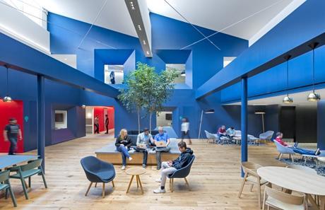 L'open space type café!