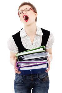 business-stress-burnout-woman-employment