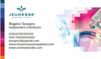 Carte De Visite Jeunesse Global