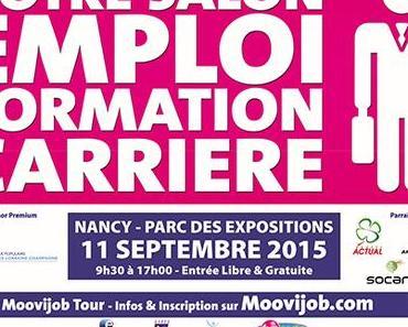 Salon Emploi Recrutement Formation Carrière – Moovijob Tour Nancy 2015