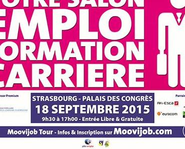 Salon Emploi Recrutement Formation Carrière – Moovijob Tour Strasbourg 2015