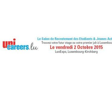 Welcome on board chez LuxairGroup au salon Unicareers.lu le 2 octobre !