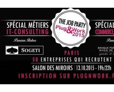 Prochaine soirée de recrutement Plug&Work à Paris : Rematérialisons le Recrutement !