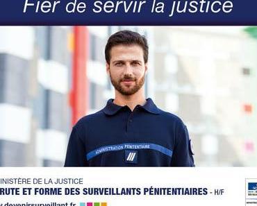 Le ministère de la Justice recrute par le biais d'un concours des surveillants pénitentiaires
