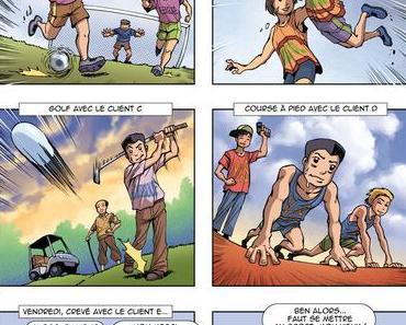 """BD Les Consultants N°15 : """"L'art"""" du sport chez le client"""