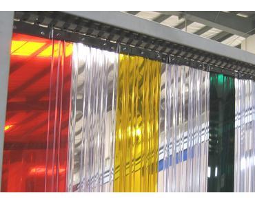 Portes à lanières : indispensables pour l'industrie