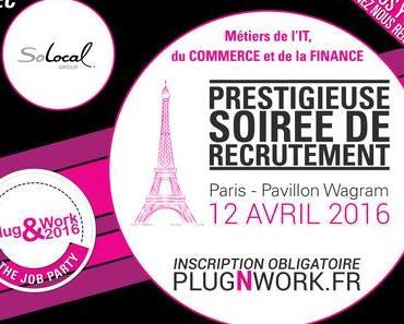 SoLocal Group recrute à Plug&Work Paris le 12 avril !