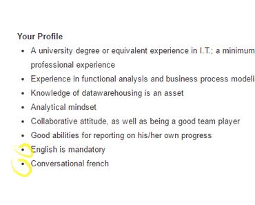 En quelle langue rédiger votre CV ?
