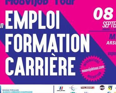 Tout sur le salon Recrutement/Formation : Moovijob Tour Metz 2017 [infographie]
