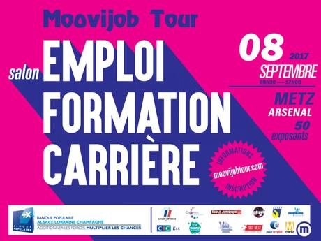 Tout sur le salon recrutement formation moovijob tour for Salon recrutement 2017