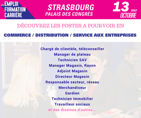 Moovijob Strasbourg 2017 : Focus sur les postes à pourvoir !