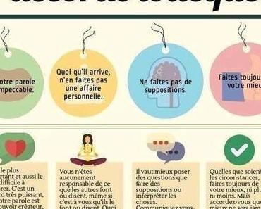 Les 4 accords toltèques pour une recherche d'emploi dans le bonheur