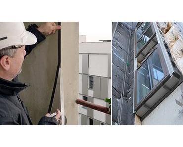 Pose de fenêtres : la technique de l'applique